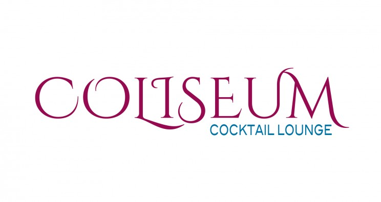 Logotipo para COLISEUM cocktail lounge